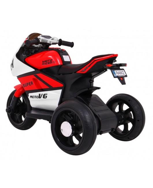 Elektrická motorka SUPER červená